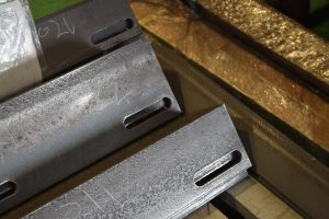 ユニットワーカーによる形鋼加工