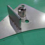 検査機 ステンレス ボス付きブラケット 制御装置