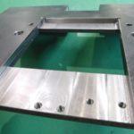 検査装置 カバー 機械加工 SS400材