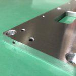 環境機器 パーツ ベースプレート 機械加工 組立部品