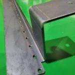 昇降機ブラケット 板金組立部品 SS400